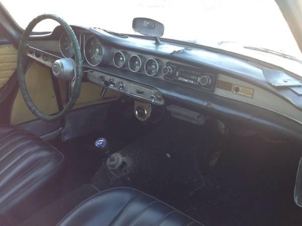 1962 Volvo P1800 Coupe V4 Manual For Sale In Salem Oregon