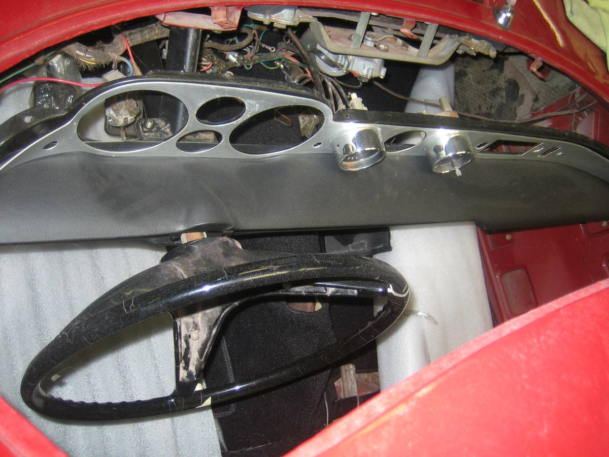 1963 Volvo P1800 Partially Restored Car For Sale In Sonoma Ca 16k