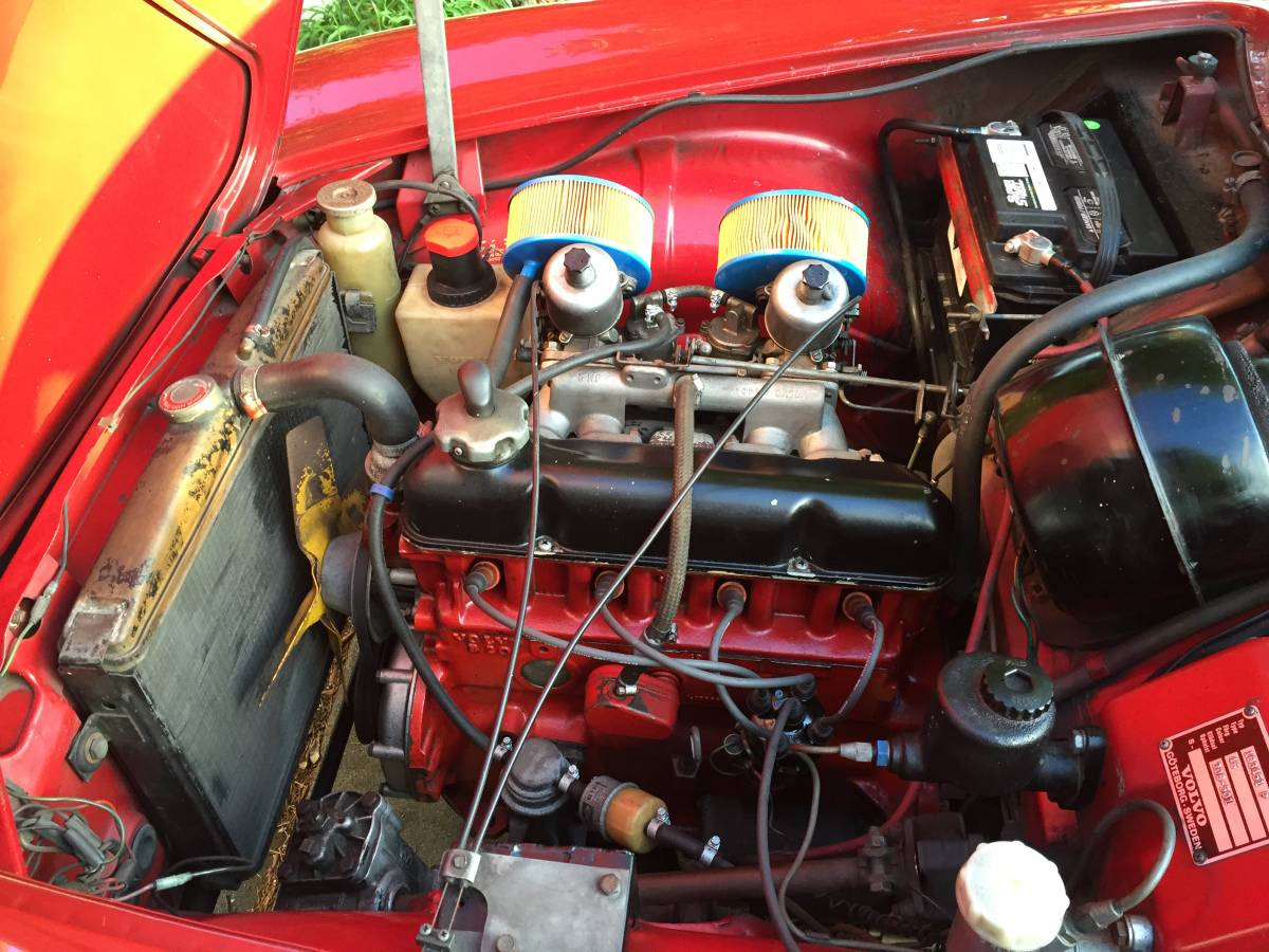1968 Volvo P1800 4 Cylinders Manual For Sale In Albany