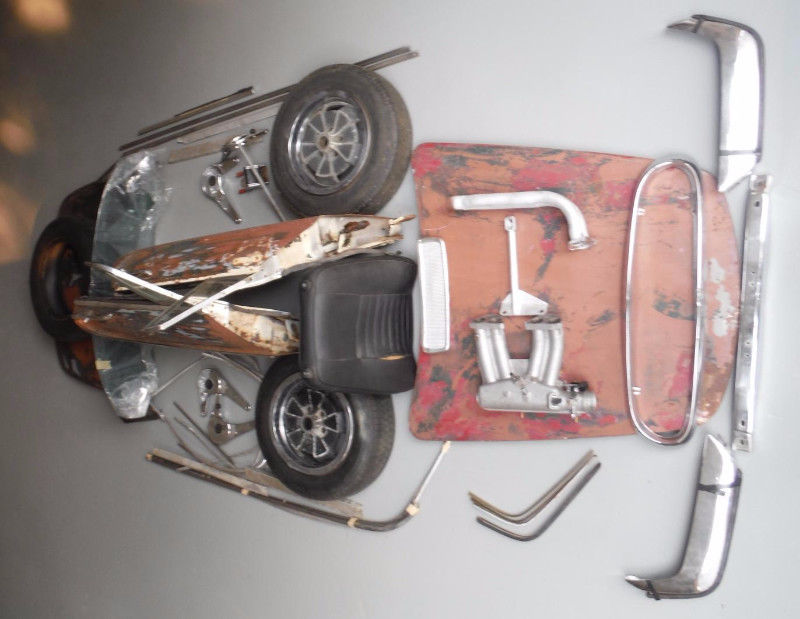 1968 Volvo P1800 Parts Lot For Sale in Grindrod, British ...