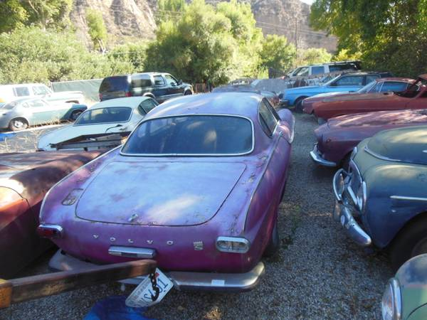 1969 Volvo P1800 Various Projects For Sale in Los Angeles ...