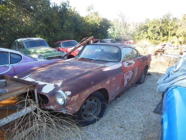 1969 Volvo P1800 Various Projects For Sale In Los Angeles California