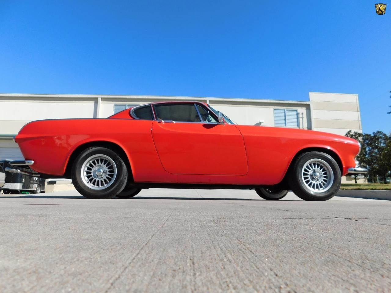 Red Classic 1971 Volvo P1800E I4 For Sale by Dealer in Houston, Texas