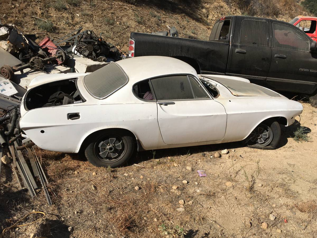 1971 Volvo P1800 V4 Manual For Sale In North Hollywood
