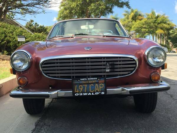 1971 Volvo P1800e V4 Manual For Sale Santa Barbara California