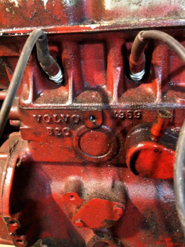 B20 4 Cylinder Engine From A 1971 Volvo P1800 For Sale In