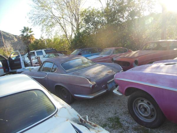 Lot of Volvo P1800 Cars For Sale Los Angeles California