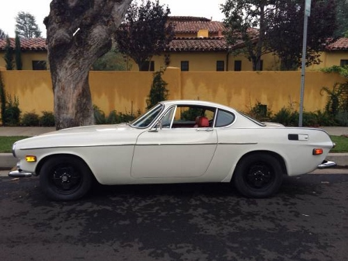 Craigslist Orange County Cars For Sale By Owner >> Cream 1970 Volvo P1800 With Red Interior For Sale In Orange