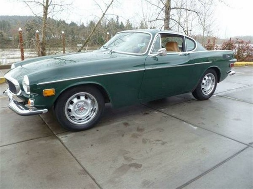 1972 Volvo P1800 Cypress Green For Sale in University City California