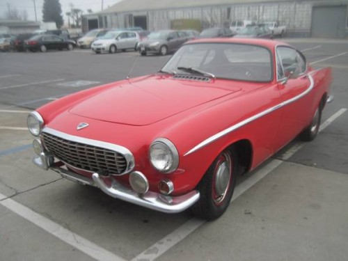 1962 volvo p1800 for sale insan jose downtown ca. Black Bedroom Furniture Sets. Home Design Ideas