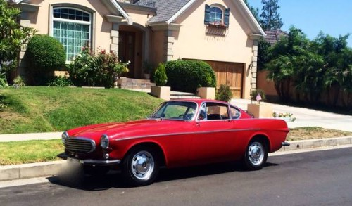 1965 Volvo P1800 Sports Coupe For Sale in Los Angeles ...