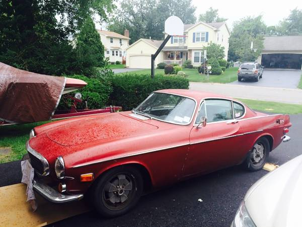 Red Classic 1971 Volvo P1800E I4 For Sale by Dealer in ...