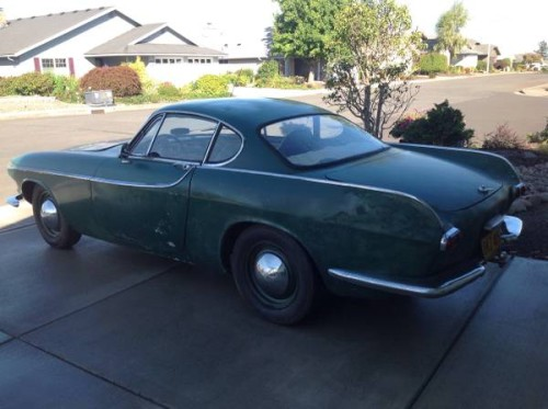 1962 volvo p1800 coupe v4 manual for sale in salem oregon. Black Bedroom Furniture Sets. Home Design Ideas