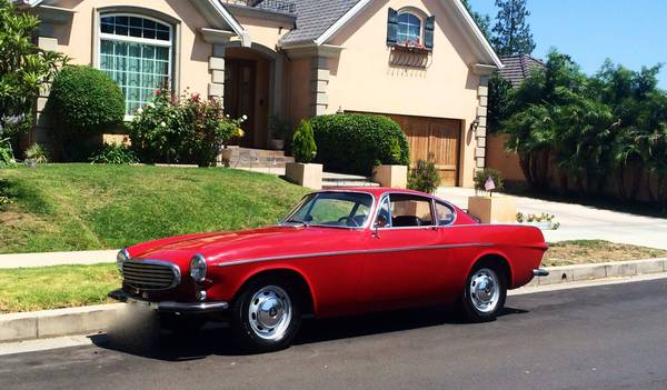 Restored Red 1966 Volvo P1800S For Sale In Escondido