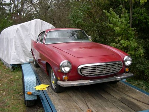 1968 Volvo P1800 Coupe V4 Manual For Sale In Pittsburgh