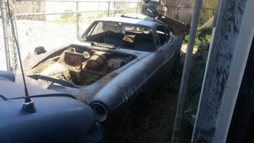1966 Volvo P1800 Salvage Parts Car For Sale In Glassell Park California