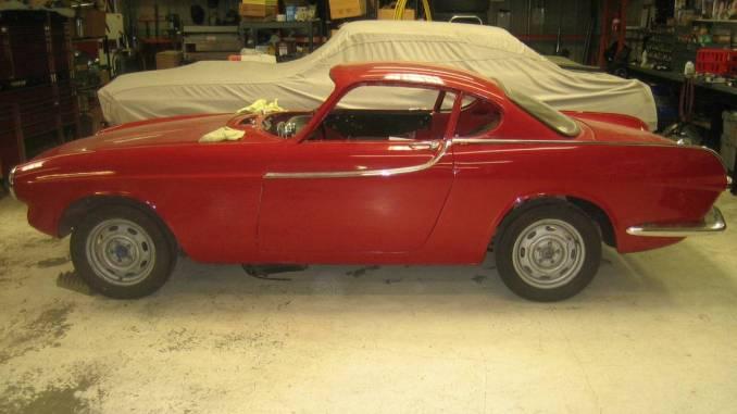 1963 Volvo P1800 Partially Restored Car For Sale In Sonoma