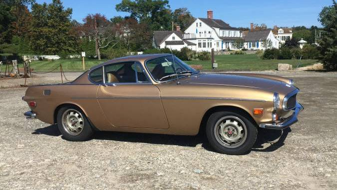 1972 Volvo P1800E Low Mile Collector Coupe For Sale in Southport, CT