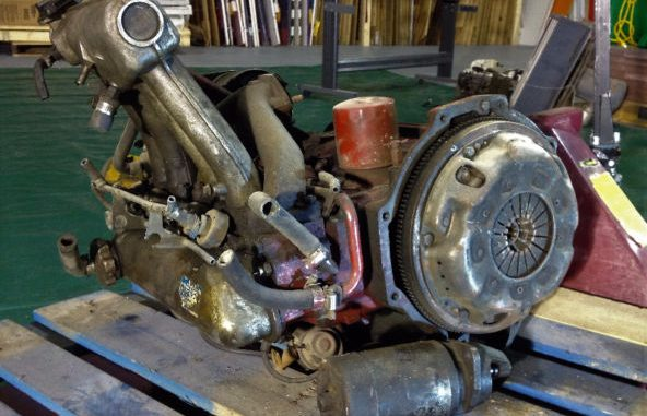 B20, 4 Cylinder Engine from a 1971 Volvo P1800 For Sale in Tecumseh ON
