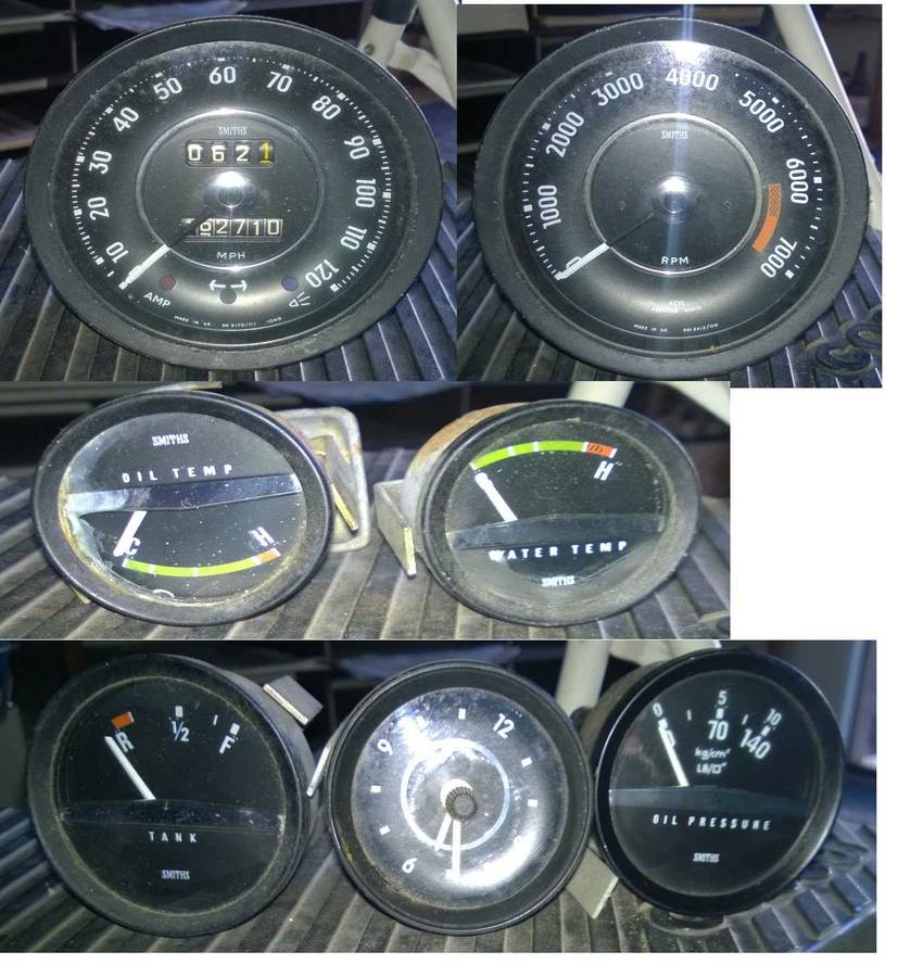 1973 Volvo P1800 Gauges For Sale By Owner In Santa Barbara