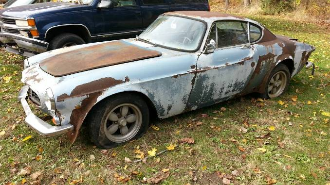1967 volvo p1800s b18 4 speed manual for sale in zionsville pa. Black Bedroom Furniture Sets. Home Design Ideas
