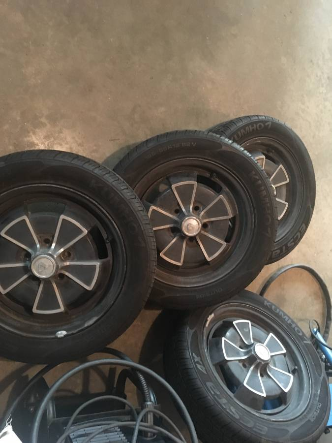 Volvo P1800 Wheelset (4 Rims & Tires) For Sale in Allouez, WI
