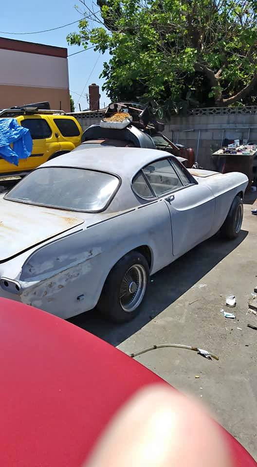 1961 Volvo P1800ES Project Automatic For Sale in Santa Ana ...