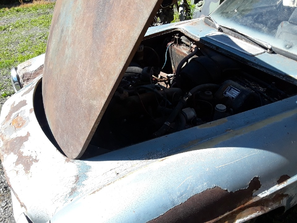 1967 Volvo P1800 Project 4cyl Manual For Sale in Myrtle ...