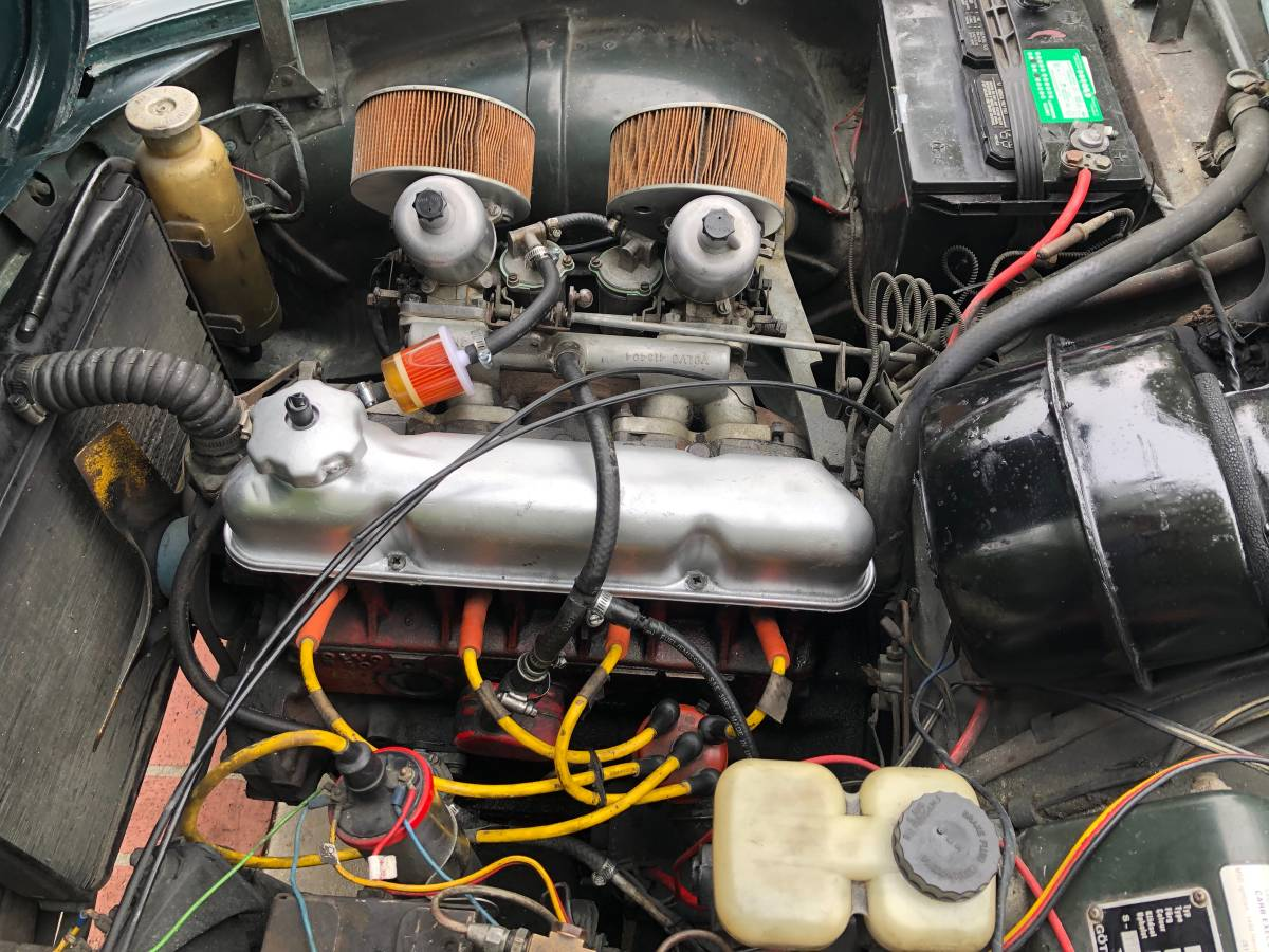 1968 Volvo P1800 4 Cylinder Manual For Sale in Chatsworth, CA